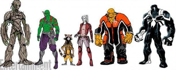 marvel estos son los nuevos guardianes de la galaxia
