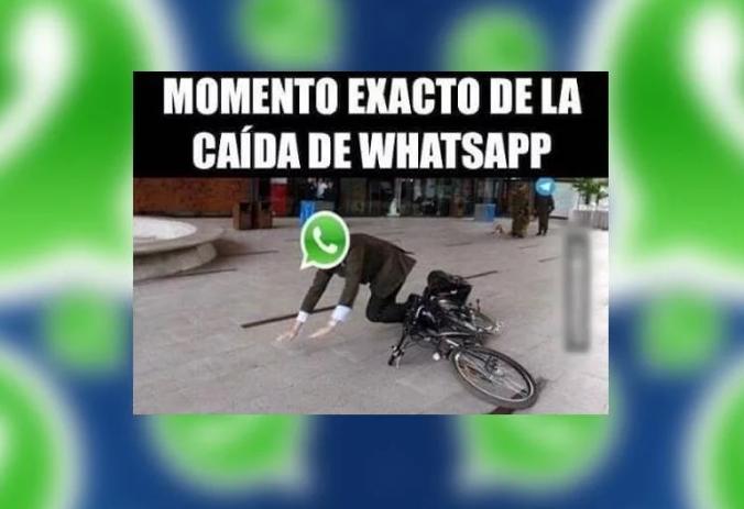 Caida De Whatsapp Picture: [FOTOS] Los Memes Que Está Dejando La Caída De Whatsapp