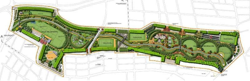 El parque La Hondonada, en Cerro Navia, tendrá 25 hectáreas de extensión.