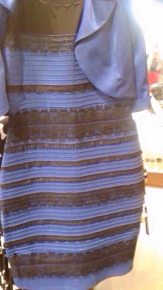 Blanco o azul? El vestido que divide a internet   Tele 13