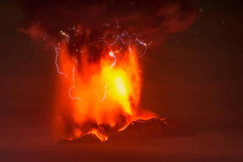 Vulkanutbrott Bali
