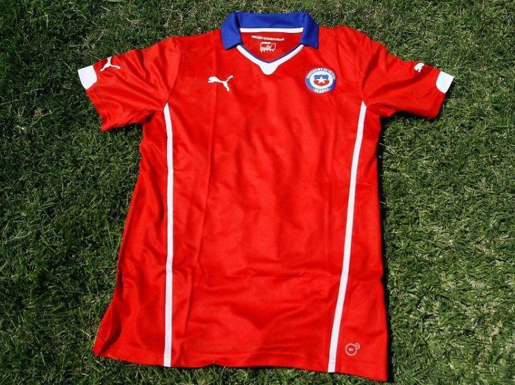 Las 5 camisetas de la Selección Chilena que más dieron que hablar ... c17f4e09ef371