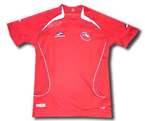 Las 5 camisetas de la Selección Chilena que más dieron que