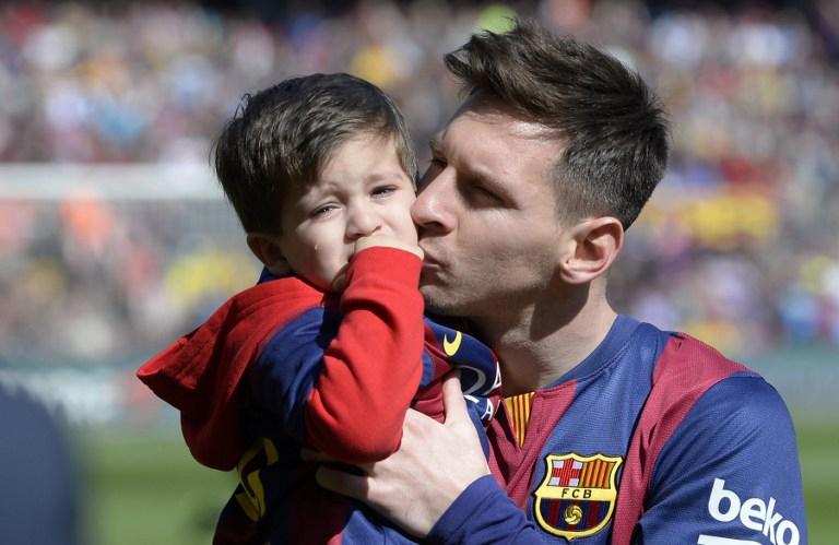 Thiago Messi Lionel Messi