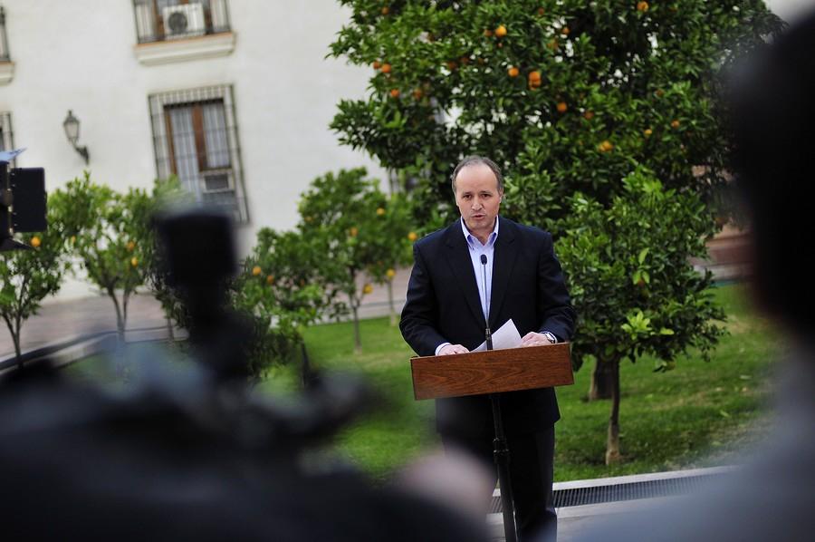 Jorge Insunza renunció a la Segpres hace tres semanas