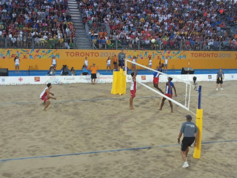 Primos Grimalt terminan cuartos en el vóleibol playa en Toronto