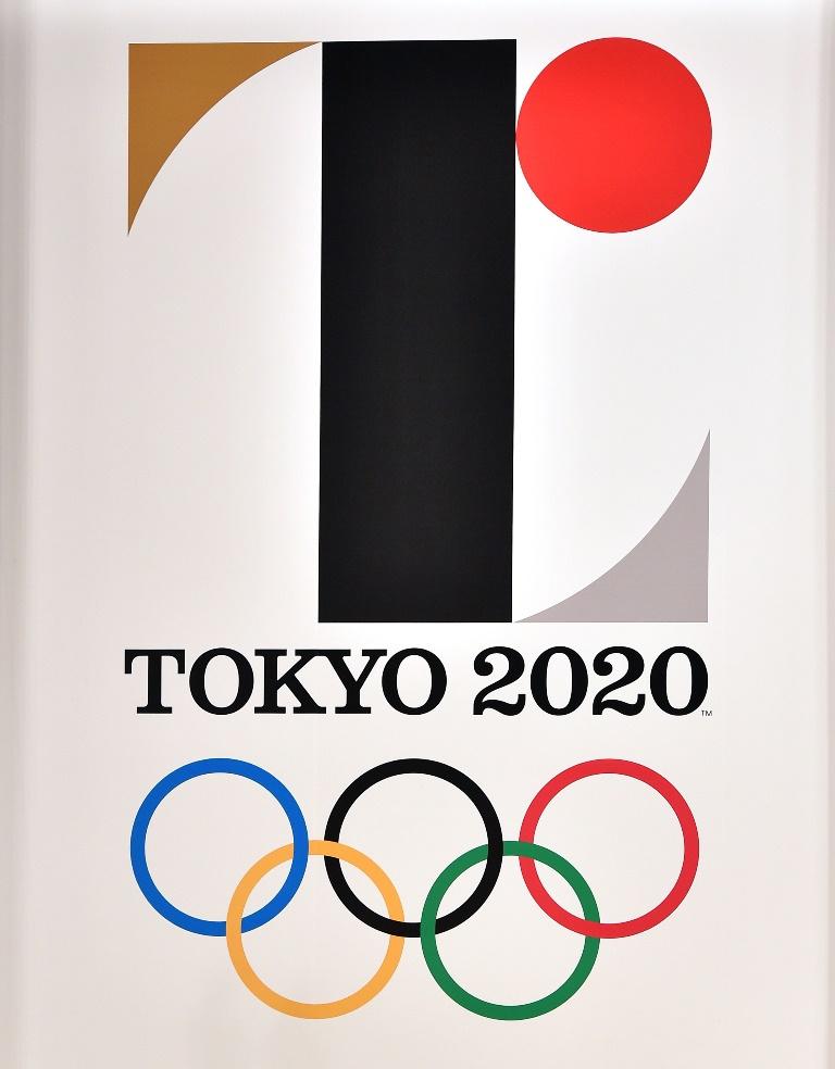 El logo de los Juegos Olímpicos de Tokio 2020