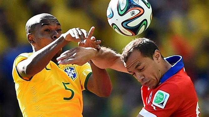 El frente a frente de Chile vs Brasil en eliminatorias