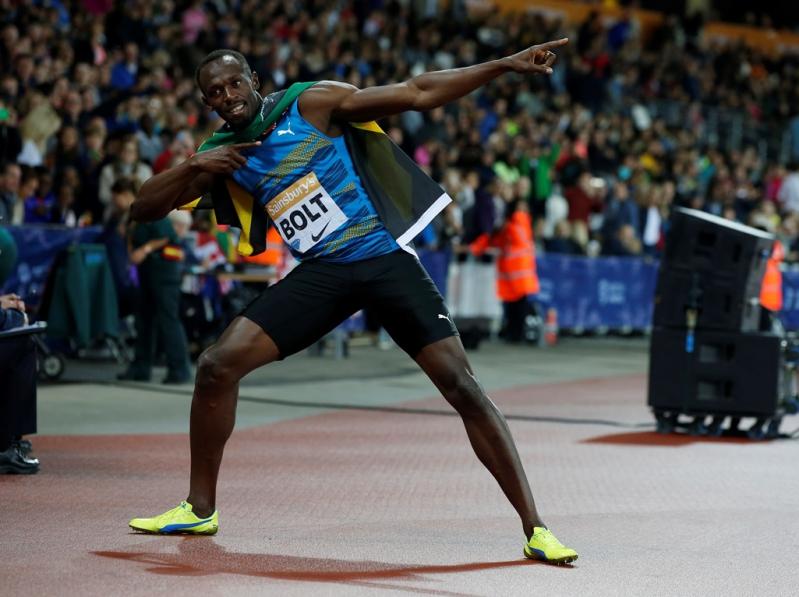 Dentro de un mes Bolt defenderá sus tres oros en el Mundial de Atletismo de Pekín.