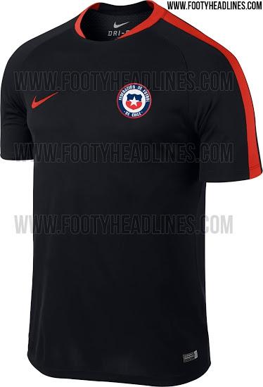 [FOTOS] Se filtra supuesta camiseta de entrenamiento de Chile