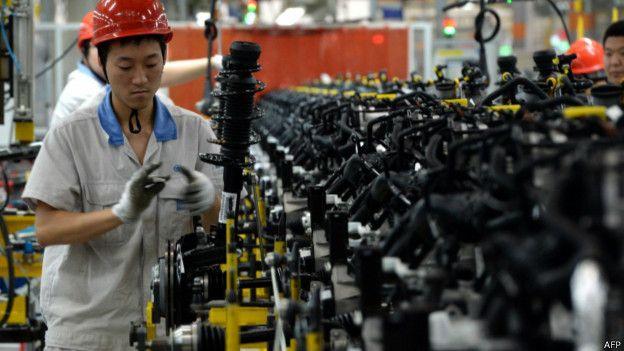 China: una de las tablas de salvación de la empresa alemana.