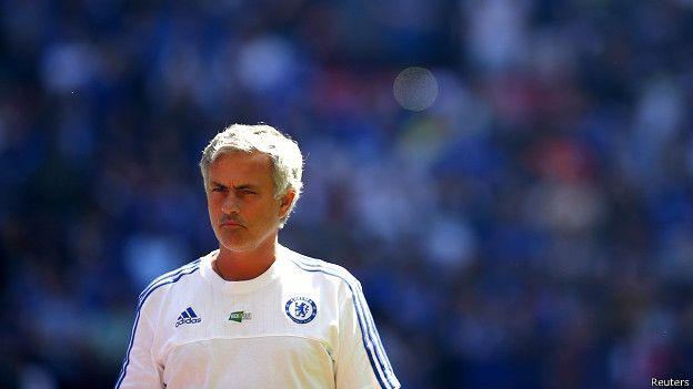 """Para Mou, la derrota no cambia nada. Él seguirá siendo el """"Especial"""" y su Chelsea, el equipo a vencer."""