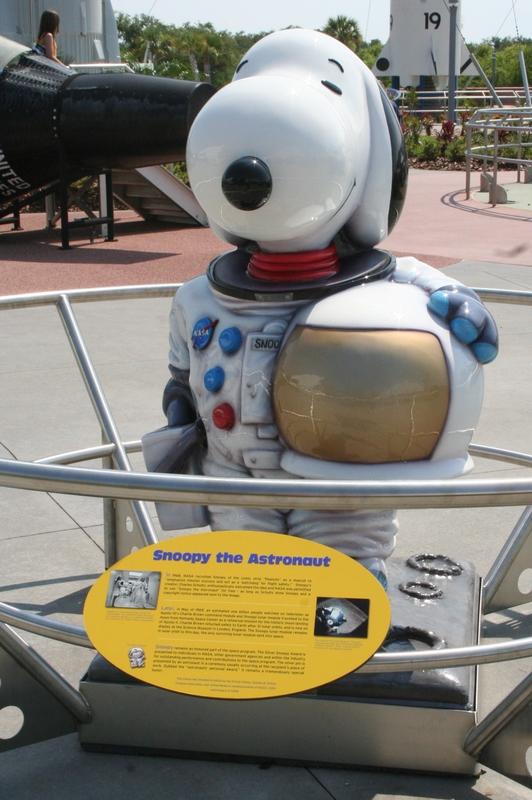 """Snoopy"" hasta llegó a la NASA"