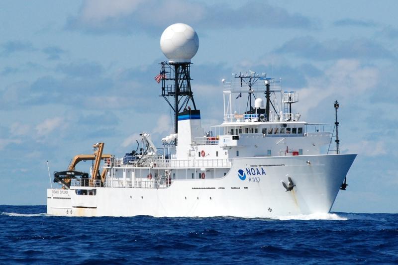 El barco científico Okeanos Explorer