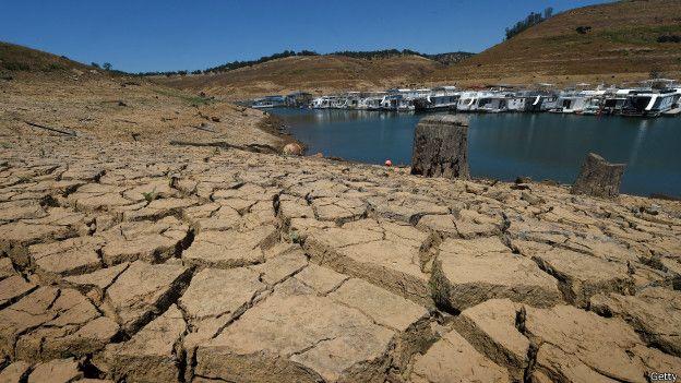 La costa oeste de Estados Unidos, y en particular el estado de California, ha sido afectada por una severa sequía desde hace cuatro años.
