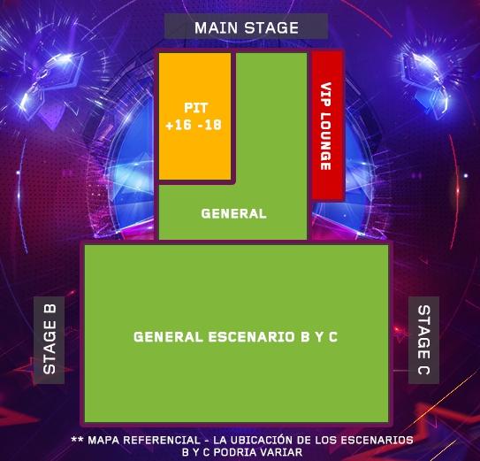 Festival electrónico Ultra Chile confirma su parrilla de artistas para su versión 2015