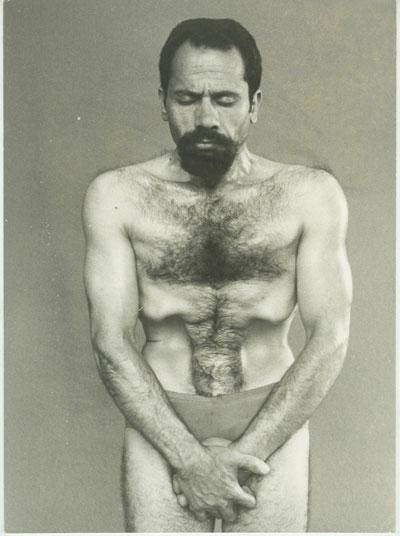 Kazim Gürbüz cuando era joven