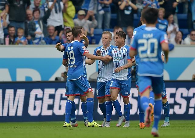 Eduardo Vargas anota su primer gol en la Bundesliga en caída de Hoffenheim