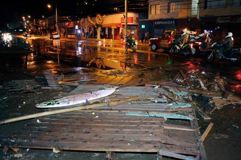 Decretan zona de catástrofe para la provincia de Choapa y ciudad de Coquiimbo