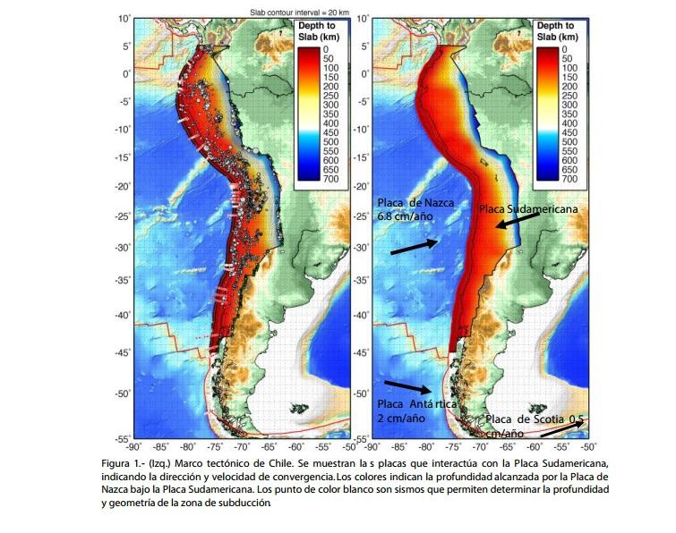 Placas de Nazca y Sudamericana provocan sismos