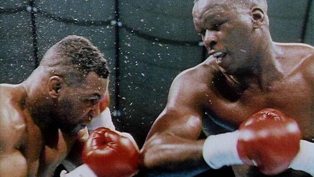 Douglas fue superior a Tyson durante todo el combate.