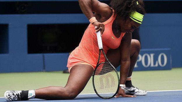 Serena Williams consideró que no había jugado tan mal, pero que Vinci había desplegado el mejor juego de su vida.