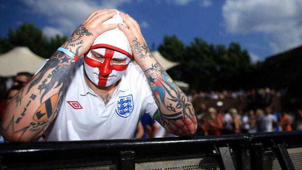 La decepción de los aficionados ingleses se repite cada dos años desde 1966.