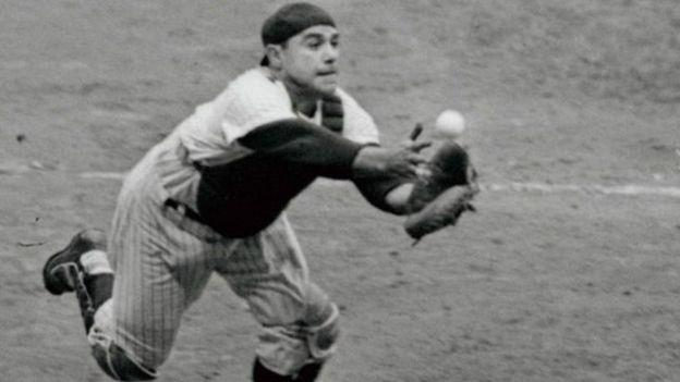 Berra podía jugar en varias posiciones, aunque fue de receptor en donde alcanzó sus mayores éxitos.