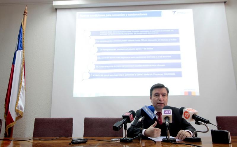 Tesorería anuncia plan de condonaciones de intereses y multas