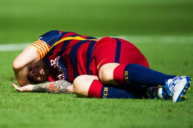 Messi se perdera entre siete u ocho semanas, unos 12 partidos entre el Barcelona y Argentina.