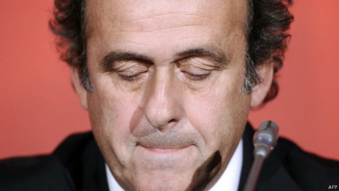 Platini presentó su candidatura a la presidencia de la FIFA con el apoyo de varias confederaciones regionales y federaciones nacionales de fútbol.
