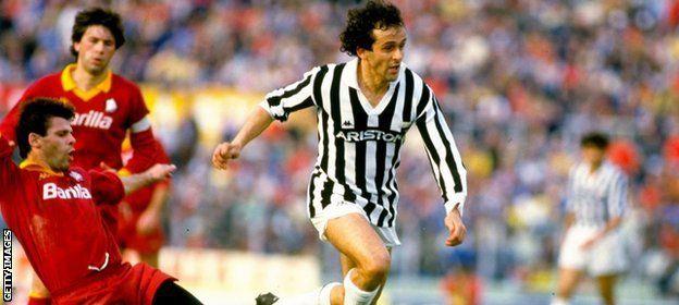 El futbolista francés dominó el calcio de Italia con la Juventus de Turín.