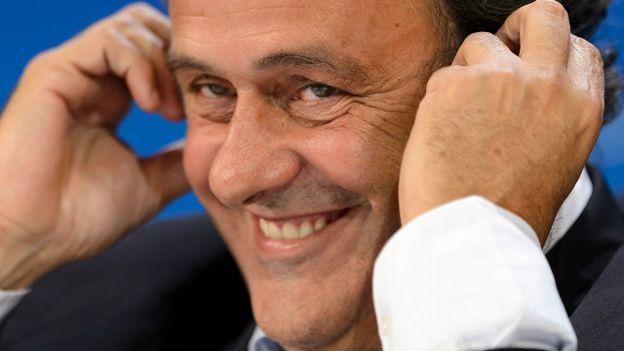 Platini asumió como presidente de la UEFA en 2007.