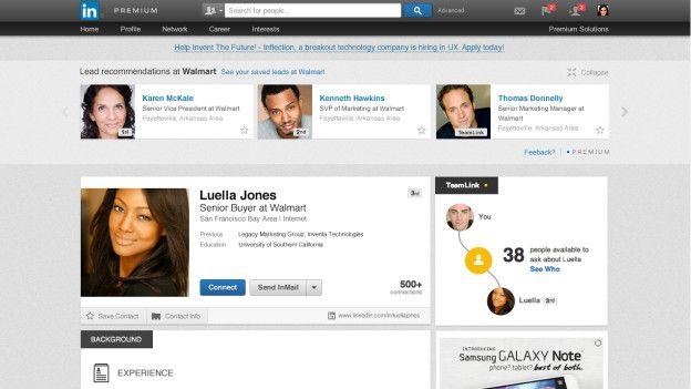 Linkedin envía invitaciones en nombre del usuario a los contactos de su correo electrónico.