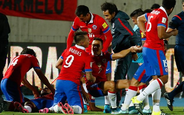 [AUDIO] Revive los goles de Chile frente a Brasil en el relato de Digan La Verdad