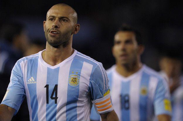El capitán de Argentina, Javier Mascherano, reconoció la superioridad de Ecuador.