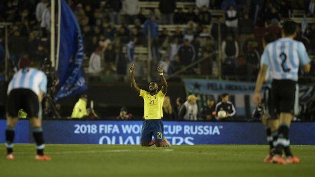 Ecuador consiguió en el primer partido la misma cantidad de puntos que ganó de visitante en el último proceso de clasificación.