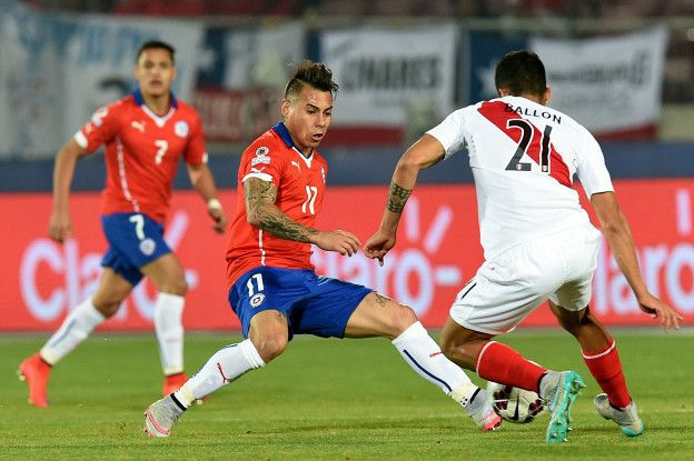 Chile y Perú es uno de los clásicos más tensos del fútbol sudamericano.