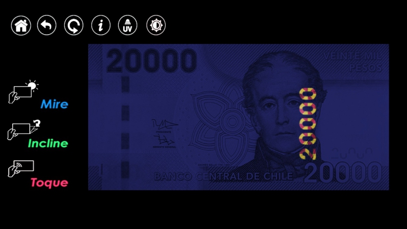 """Conozca su billete"", app del Banco Central"
