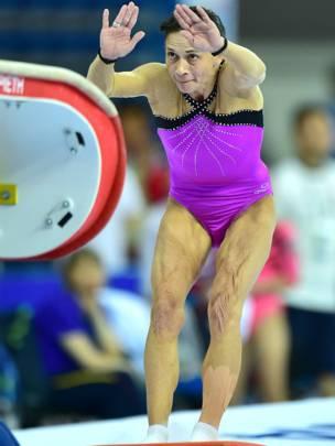 A los 40 años y después de ganar dos medallas olímpicas continúa participando los principales torneo.