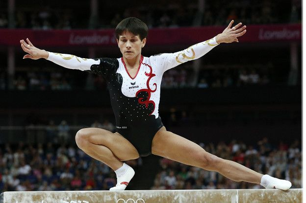 Chusovitina ganó la medalla de oro de gimnasia en los Juegos Olímpicos de Barcelona.