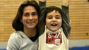 Chusovitina se tuvo que mudar a Alemania debido a la enfermedad de su hijo.