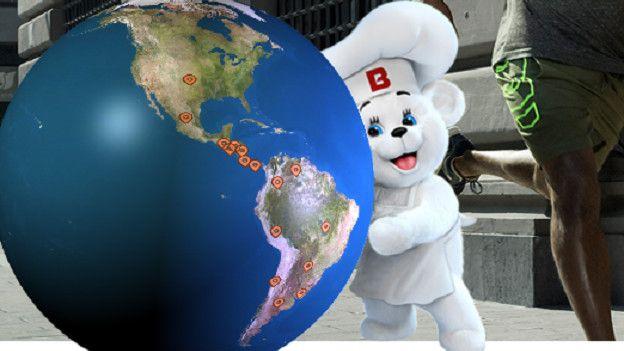 La compañía mexicana Bimbo tiene más de 100 marcas y una fuerte presencia en Latinoamérica.
