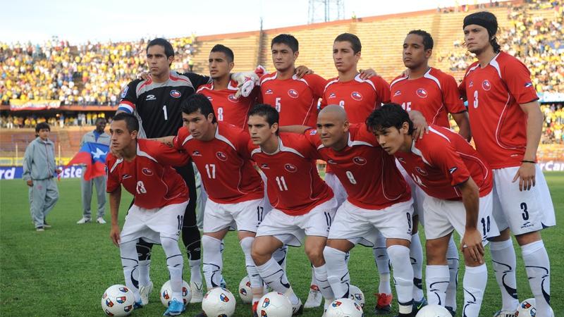 Resultado de imagen para chile colombia 2009 fernandez valdivia