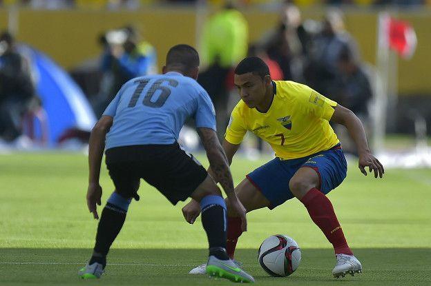 El regate y velocidad de Jefferson Montero es una de las armas de Ecuador.