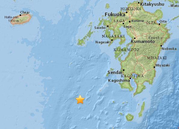 Japón: Terremoto magnitud 7 Ritcher en Ryukyu