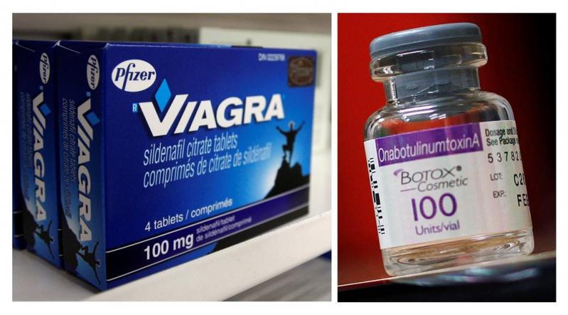 Viagra y Botox, los productos estrella de los laboratorios Pfizer y Allergan
