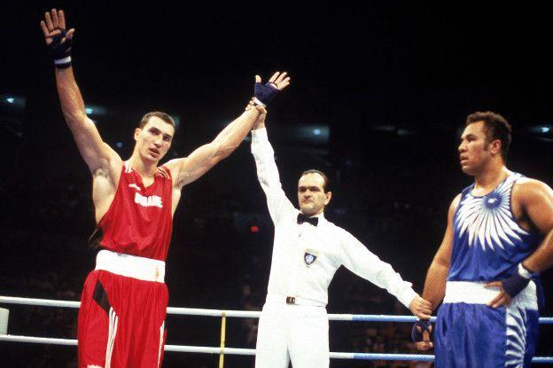 En 1996, Wladimir consiguió la medalla de oro en los Juegos Olímpicos de Atlanta.