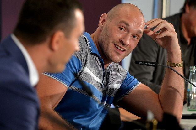"""Tyson Fury ha mantenido un ataque dialéctico sobre Wladimir Klitshcko y su forma de vida, llegando incluso a acusarlo de ser un """"predicador del diablo""""."""