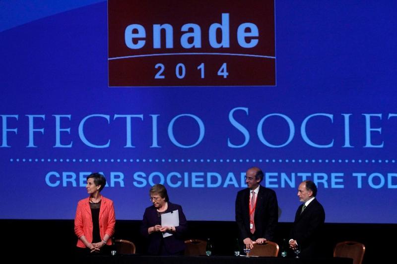 Bachelet en Enade 2014